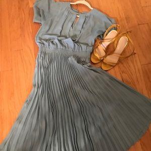 Pleated Skirt Dress from Mango.
